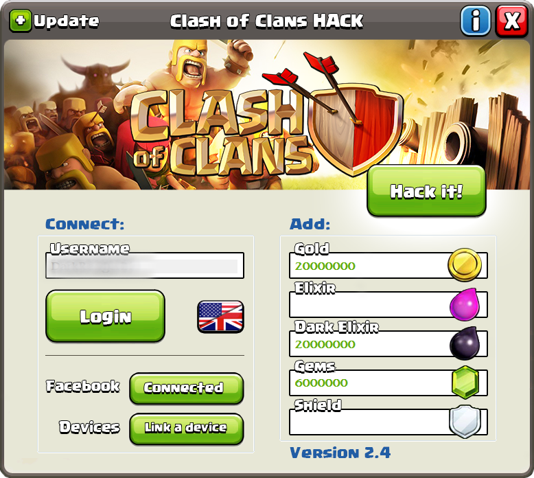 clash of clans cheat codes for iphone