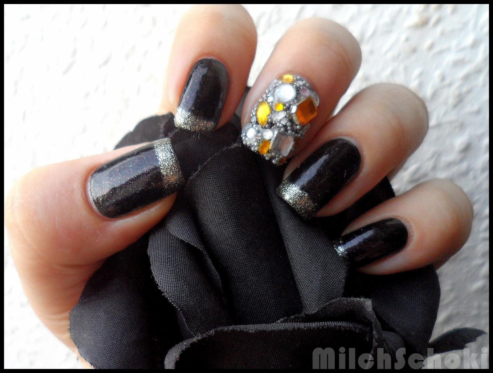 beautyecke nail art collaboration die 7 tods nden habgier. Black Bedroom Furniture Sets. Home Design Ideas