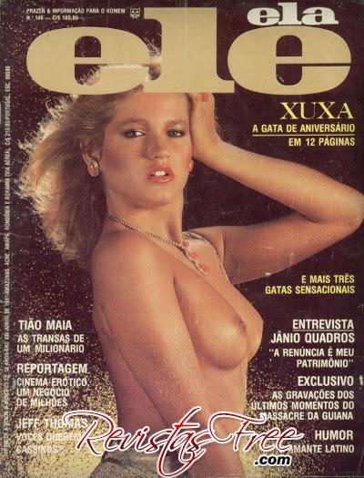 Revista Ele Ela - Xuxa - Junho 1981
