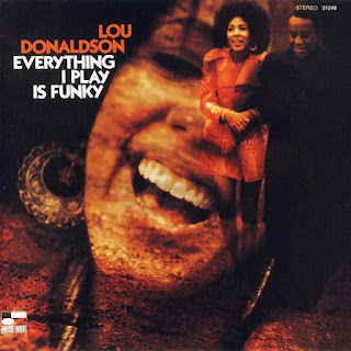 "Carátula de ""Everything I Play Is Funky"" (Lou Donaldson, 1970)"