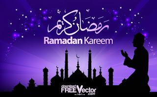 Free Vector Ramadan Kareem