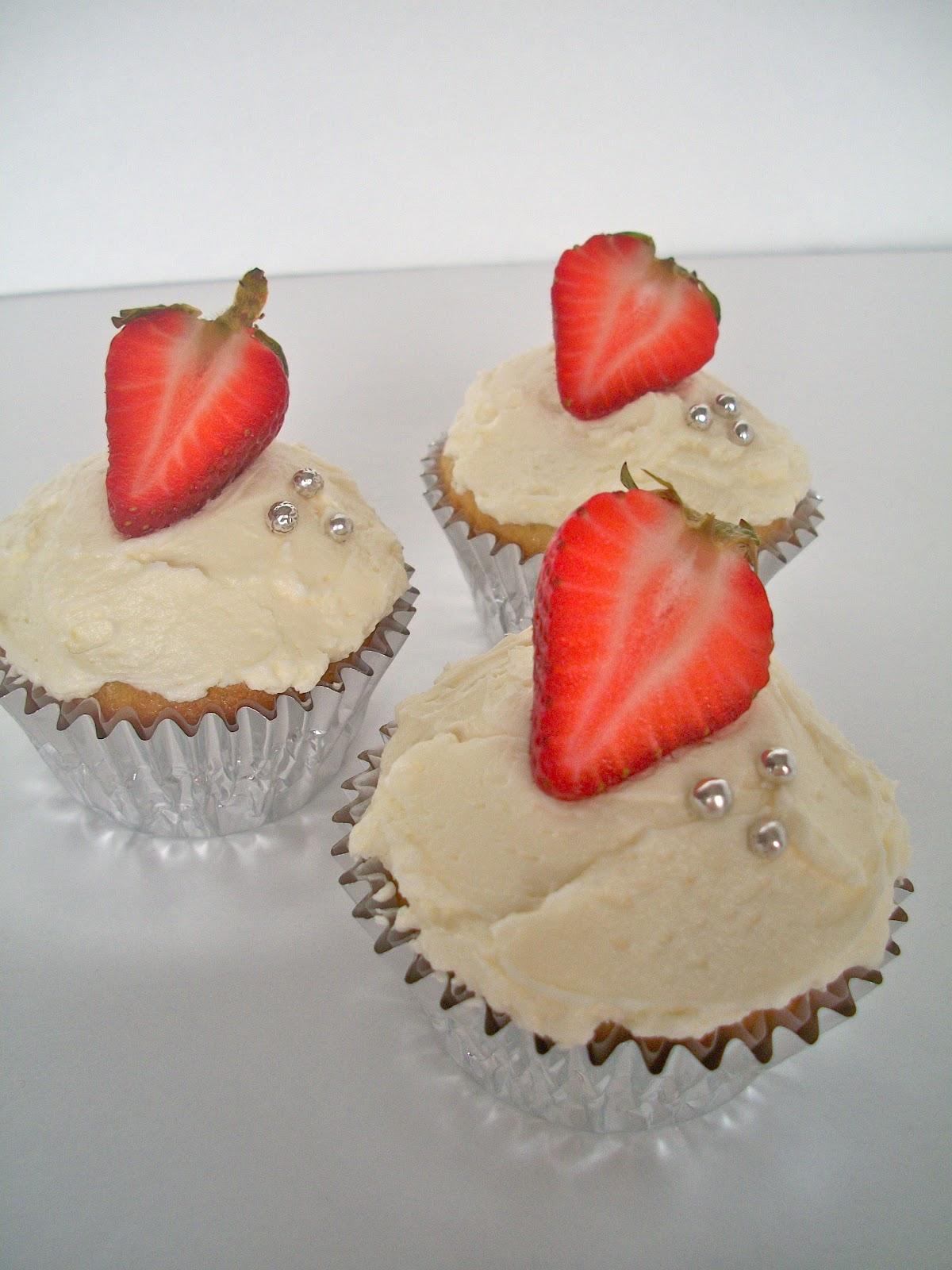 Moscato Wine Cupcake