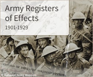 Register of Effects 1901-1929