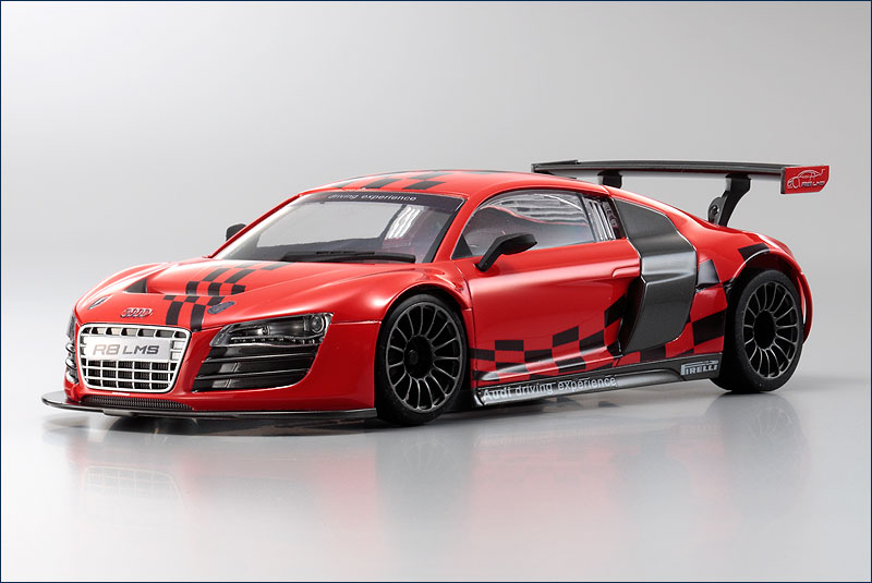 kyoshosan new mini z audi r8 lms livery. Black Bedroom Furniture Sets. Home Design Ideas