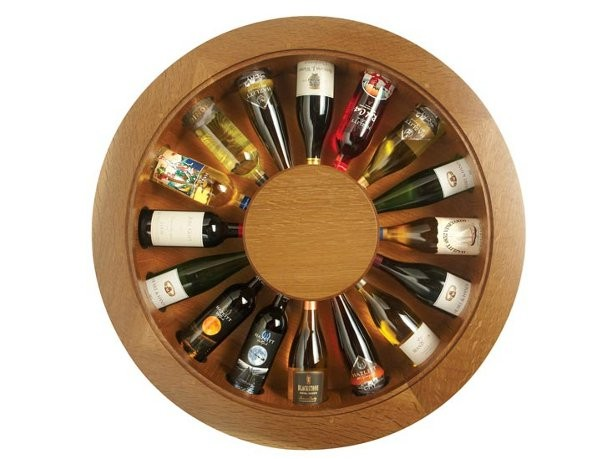 Muebles y decoraci n de interiores don vino wine table for Decoracion de interiores a distancia