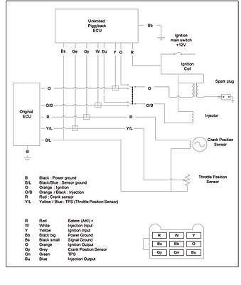 Yamaha 125z Wiring Diagram | Wiring Diagram on