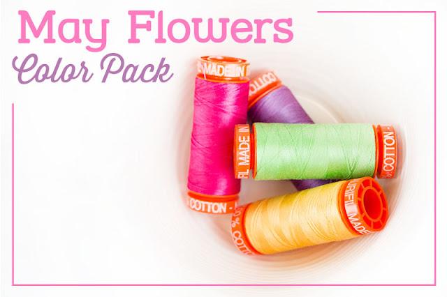 http://www.fatquartershop.com/may-flowers-aurifil-color-pack