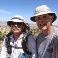 Alan and Dan atop Warren Point, Joshua Tree National Park