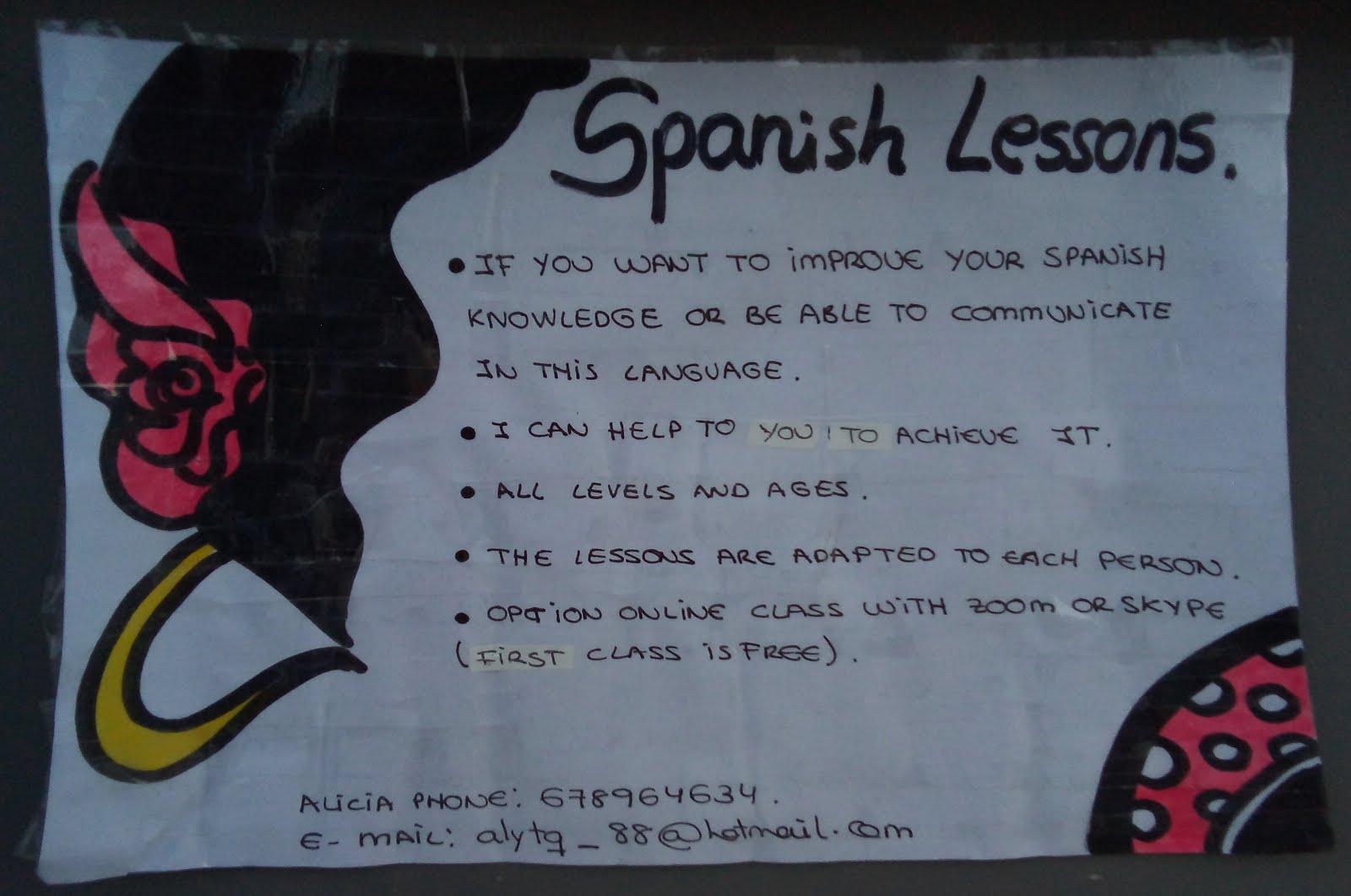 Spanish Lessons :: Alicia