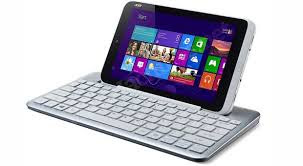 Acer Iconia W3 Windows 8 Tablet with Bluetooth keyboard dock