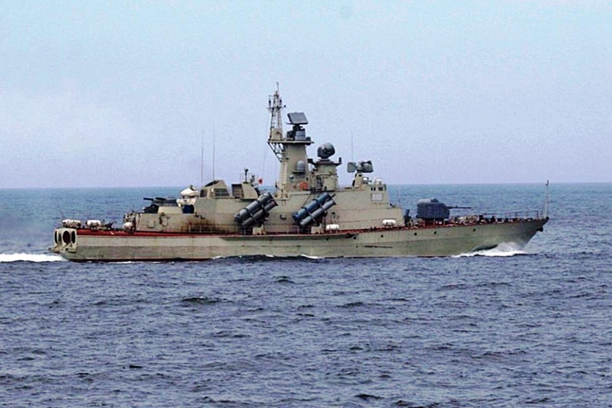 Molniya Class Corvette Ship 1