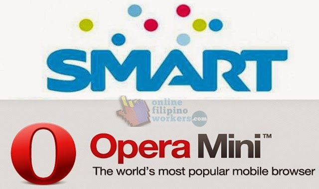 How to Get Unlimited Browsing Internet Using Your Opera Mini on Smart and Talk'nText