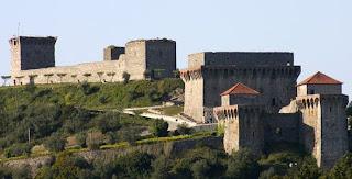 Fotografia do castelo de Ourém