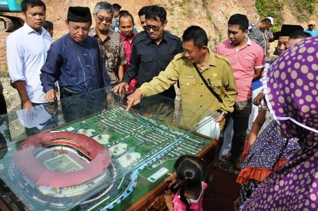 Jelang PON Ke-21, Sumbar Bangun Stadion Utama