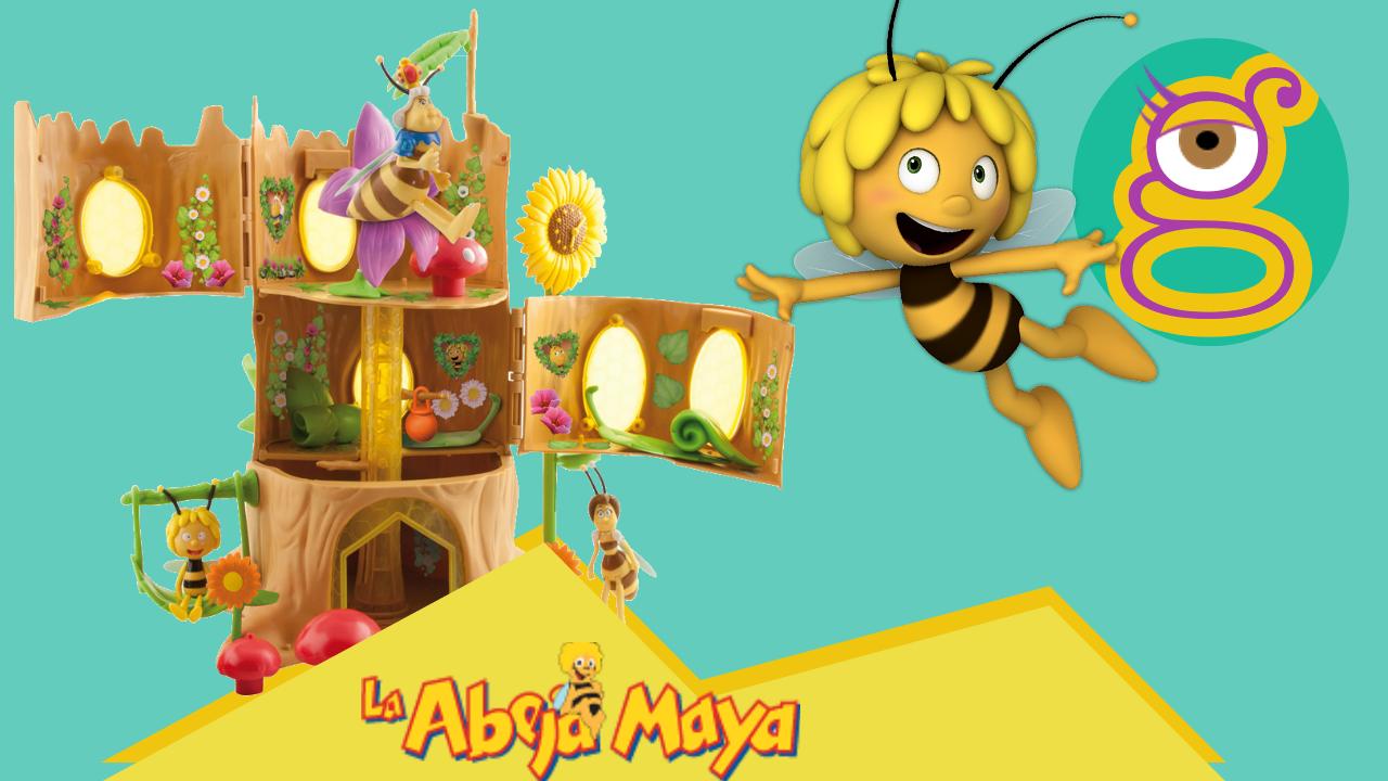 Descubre la colmena de la abeja Maya, Willy, Flip de IMC Toys en tremending girls