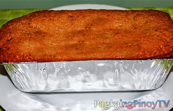 how to make banana cake recipe step by step
