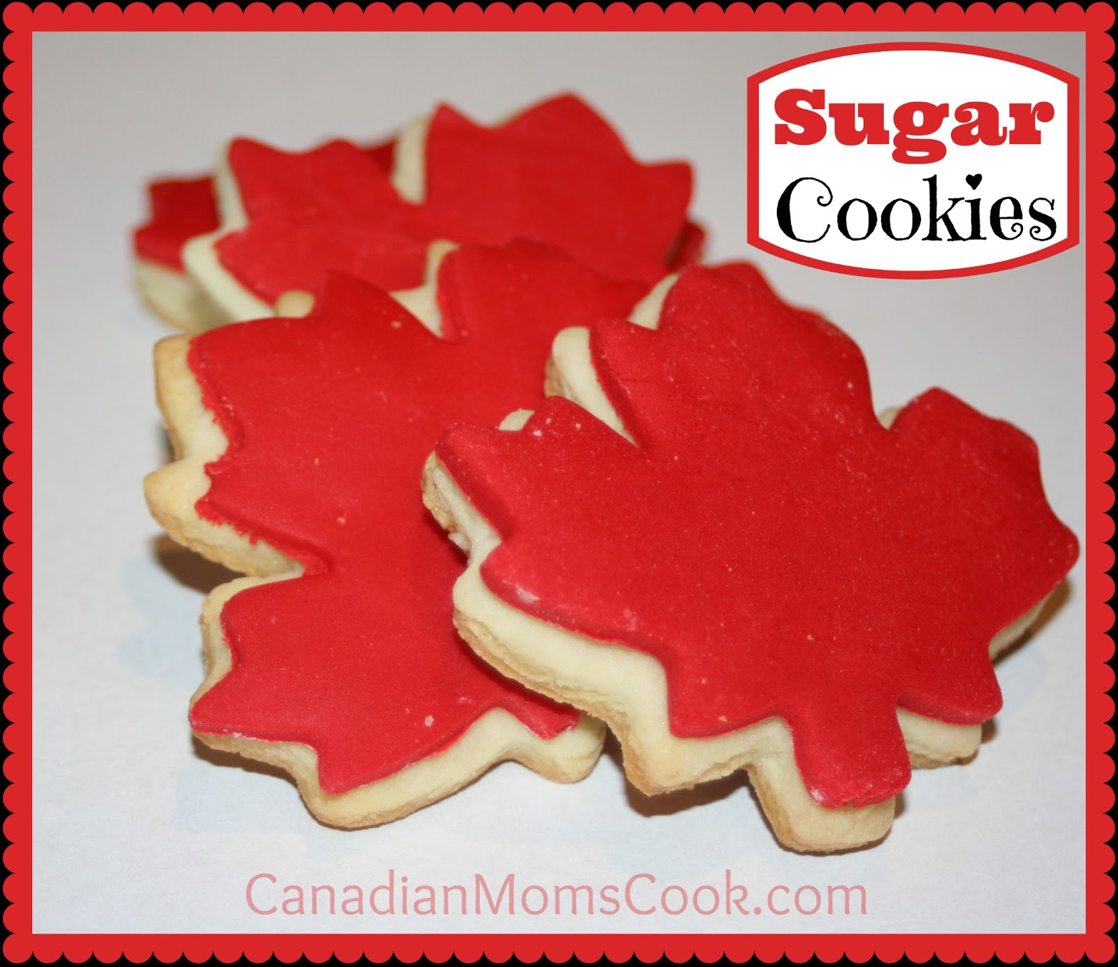 Maple Leaf Sugar Cookies