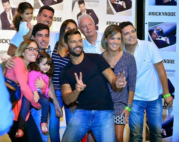 Juntos Por Um Sentimento Brasil Ricky Martin Volta Cena