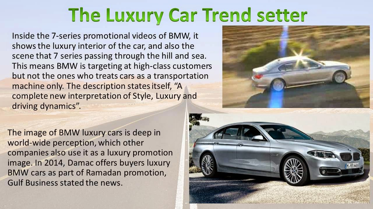 bmw targeting positioning The marketing mix of bmw discusses the 4p's of the german automobile manufacturing company bmw marketing mix shows why bmw is one top of the mind positioning.