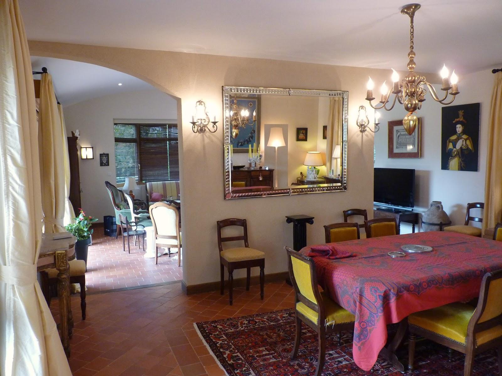 Zoline art salon salle manger contrastes et tons sur tons for Couleur pour une salle a manger