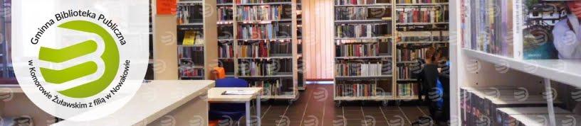 Strona Gminnej Biblioteki Publicznej w Komorowie Żuławskim