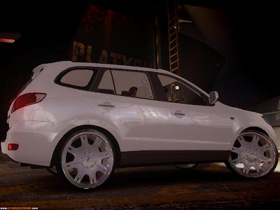 Hyundai Santa Fé DUB Para GTA IV