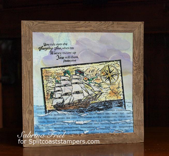 ODBD Surging Sea, Card Designer Sabrina Friel