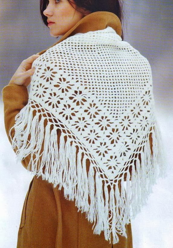 Crocheting Shawls : Stylish Easy Crochet: Crochet Shawl Pattern - Classic Crochet