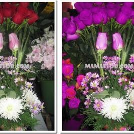 Decoración con Flores Naturales: Centro de Mesa