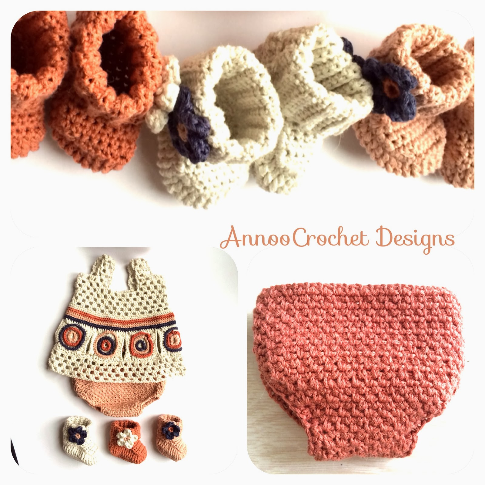 Annoo\'s Crochet World: Newborn Diaper Cover Free Pattern