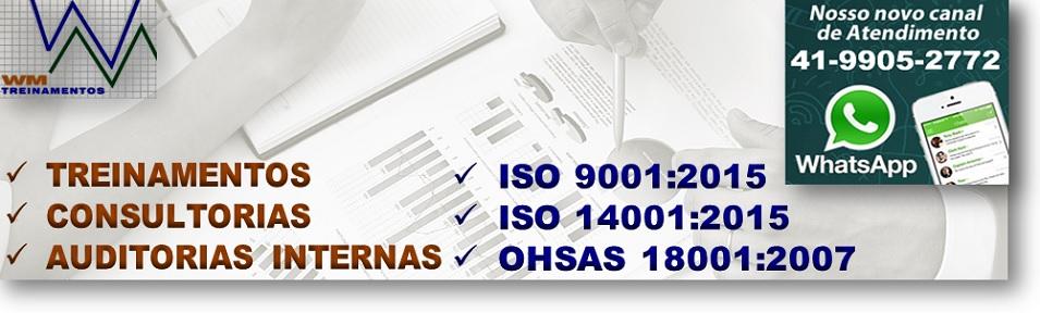 Treinamentos e Certificação ISO 9001 14001 18001 PBQPH