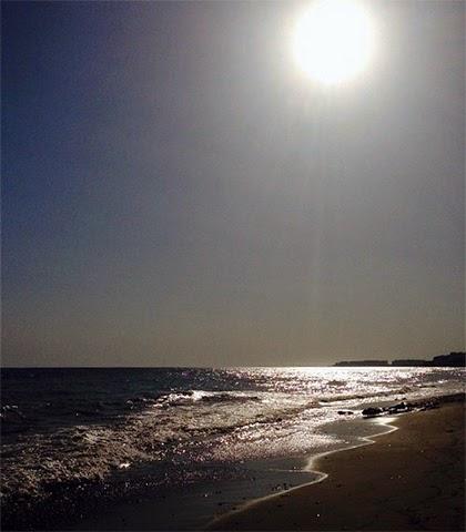 The Beach in Mersin, Turkey - Beautiful trending blue. - shwandersshefinds.com