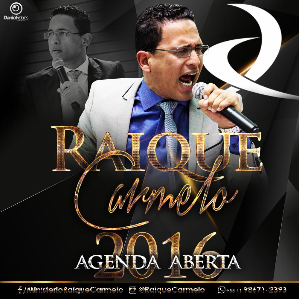 Agenda Aberta 2016 Pastor Raique Carmelo - Daniel Robles