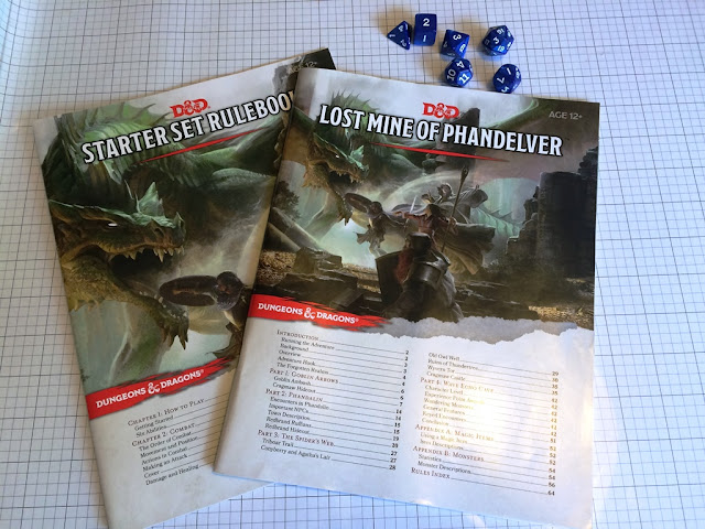 Dungeons and Dragons 5th edition starter set