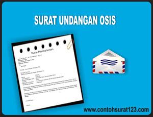 Gambar Contoh Surat Undangan Osis