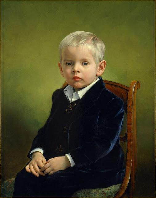 Portrait Paintings by Nikolai Shuryguin