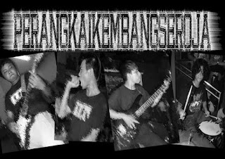 Perangkai Kembang Seroja Band Grindcore Jakarta