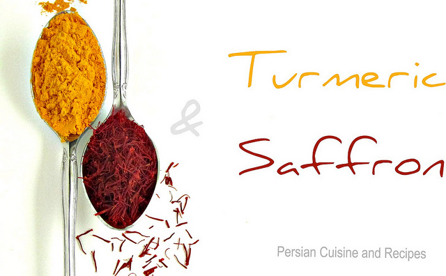 Turmeric and Saffron