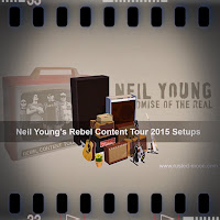 Neil Young's Rebel Content Magnatone Setup
