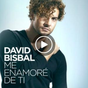 David Bisbal, Me Enamore De Ti, spotify, deezer, itunes, google play, apple music, amazon, 7 digital