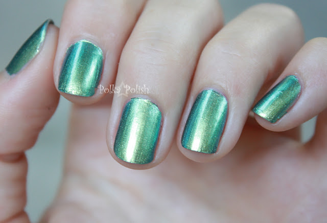 Nicole Mer-Maid for Each Other swatch blue green duochrome