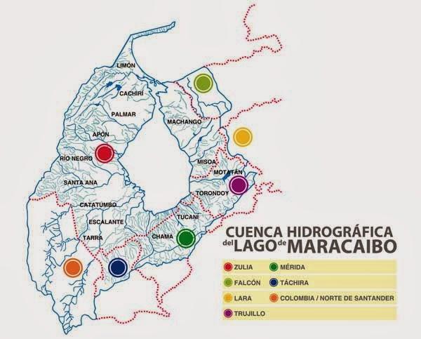 Hidrografa hidrografia de venezuela cuenca del golfo de venezuela a ella caen las aguas que provienen de la pennsula de la goajira del lado colombiano thecheapjerseys Choice Image