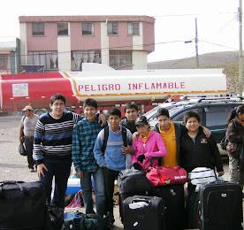 Comienzo Gira Bolivia 2012