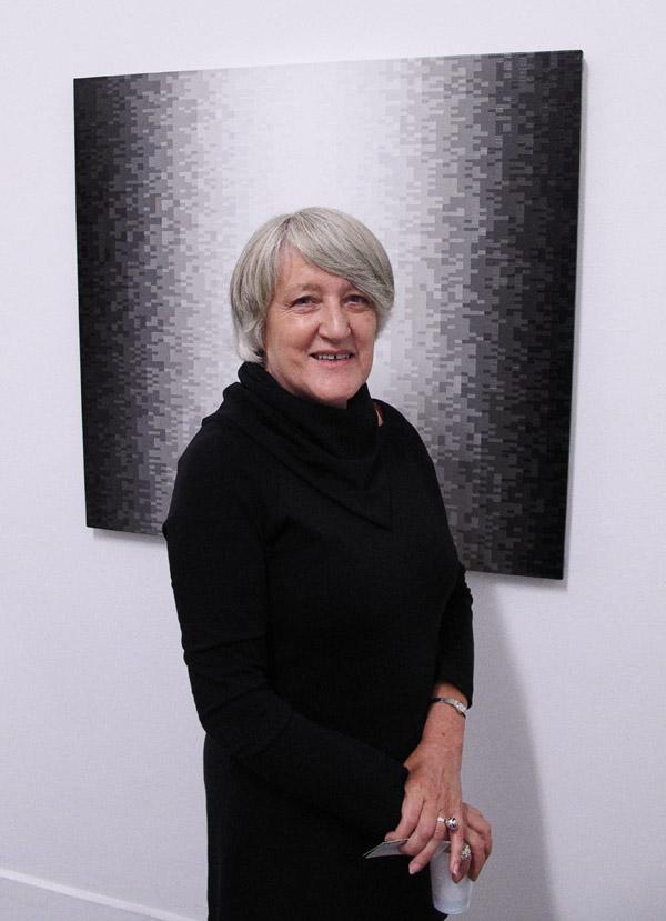 Artist portrait, Magda Cebokli, SNO 84