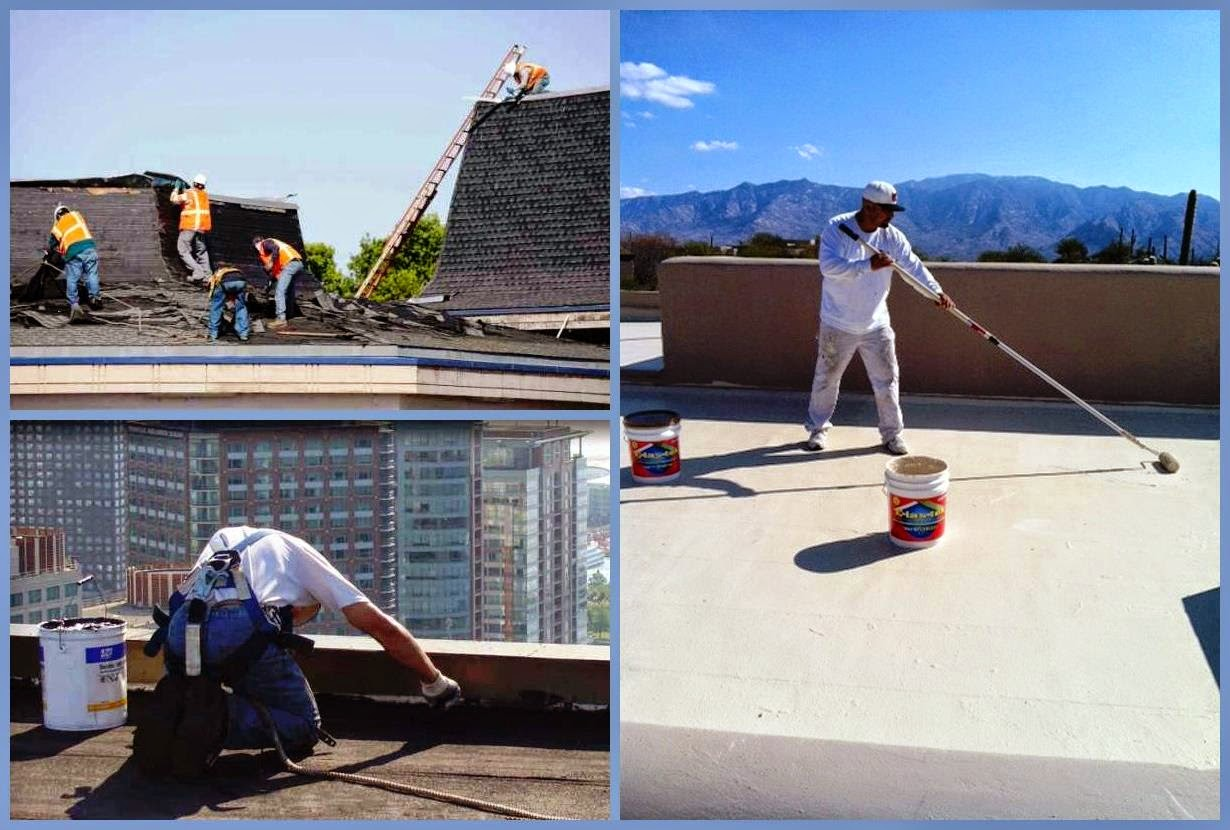 Roof Maintenance Repair and Coating Service - Business Ideas