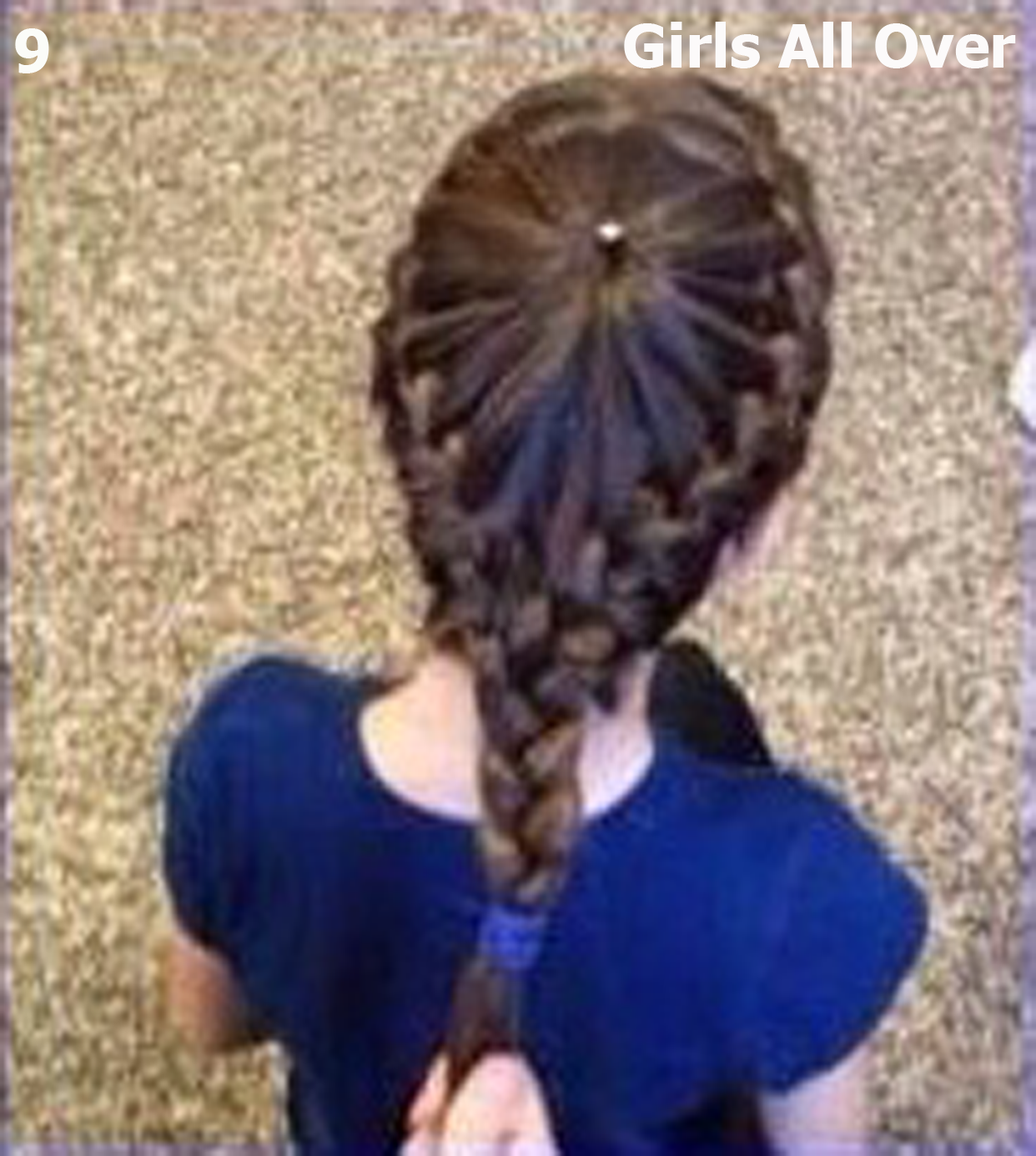 Going To Show You A Very Simple Hair Style Tutorial For Little Girls Can Try It First As Usual Here Is Final Look Of Our Todays