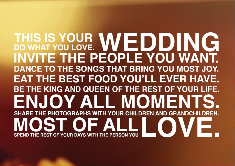 wedding day quotes for bride groom - photo #26