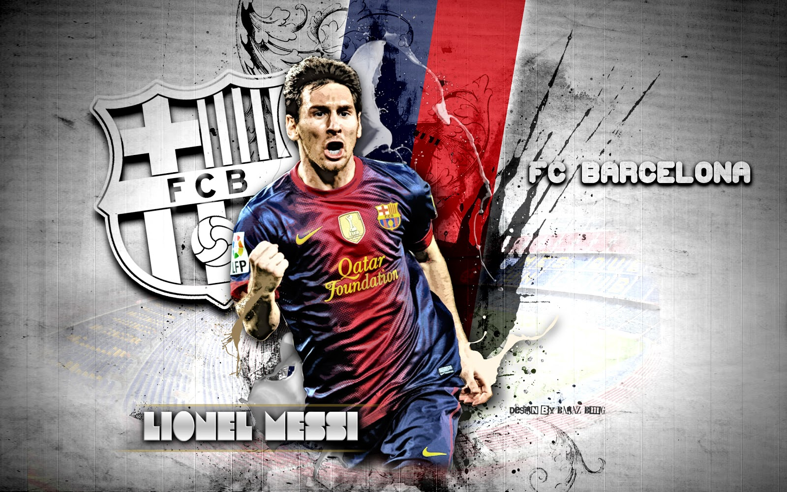 HD Wallpaper Barcelona 2013 Messi