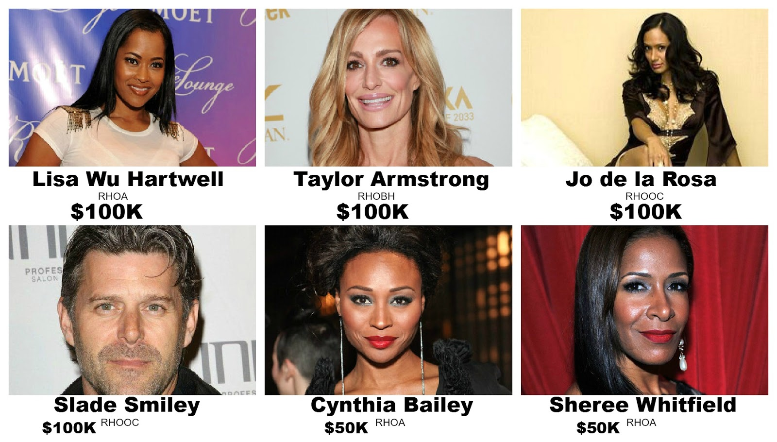 ... . Out all of Real Housewives Net Worth 2013 hilarious expressions