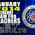 Board Exam: List of Passers January 2014 LET Secondary (H-O)